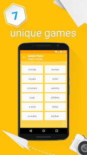 Learn Portuguese Vocabulary - 6,000 Words- screenshot thumbnail