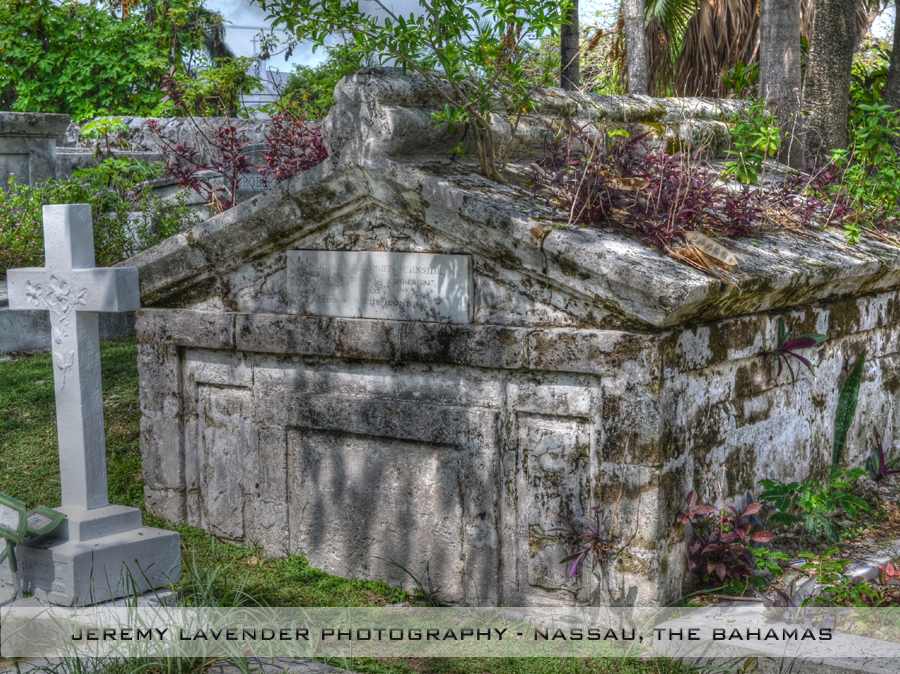Photo: Eastern Cemetery in Nassau, The Bahamas