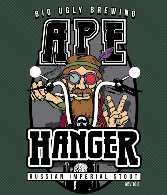 Logo of Big Ugly Ape Hanger Russian imperial Stout