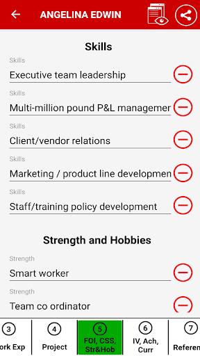 download resume builder app free cv maker  u0026 pdf templates on pc  u0026 mac with appkiwi apk downloader