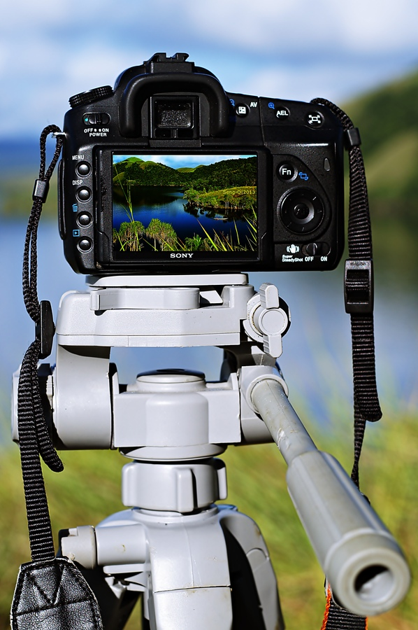 view on frame by Sengkiu Pasaribu - Products & Objects Technology Objects