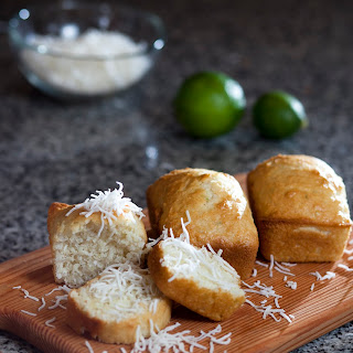 Easy Peasy Egg-free Coconut And Lime Mini Loaves [perfect For Kids To Cook]