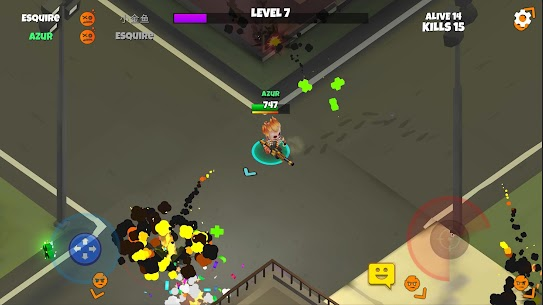 Warriors.io Battle Royale Action MOD (Menu/Free Purchase) 4