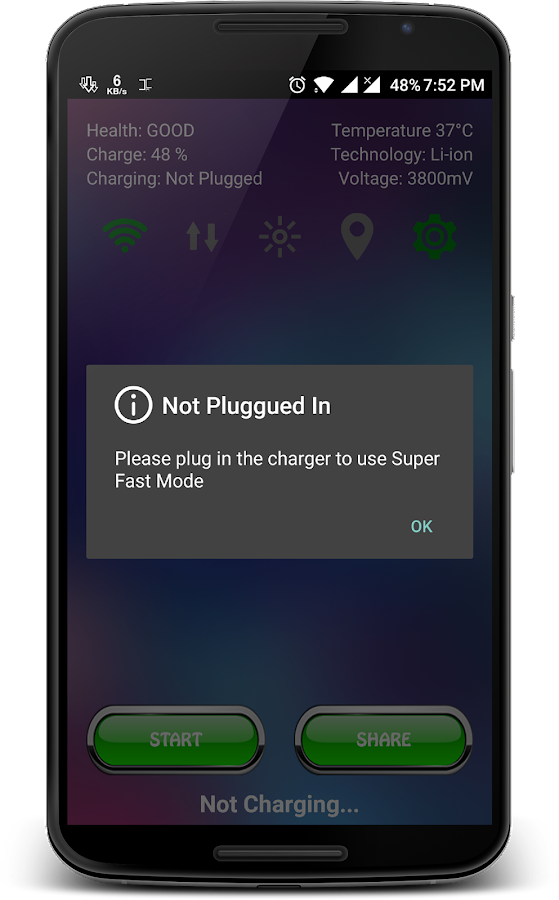 Fast Charging- screenshot
