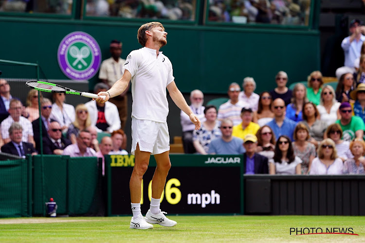 David Goffin kan ondanks sterk wedstrijdbegin titelverdediger Novak Djokovic niets in de weg leggen