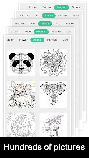 Draw Color by Number screenshot 2
