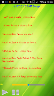 All song Chico Cesar - náhled