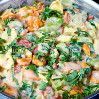 Creamy Tomato and Spinach Tortellini Recipe
