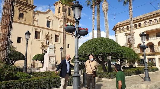 El embellecimiento del casco histórico huercalense sigue su curso