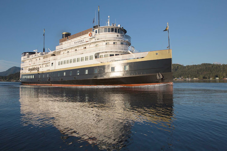 Journey through the passages of the Pacific Northwest on SS Legacy, part of UnCruise Adventures.