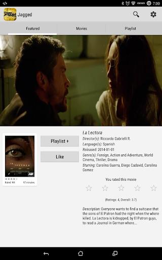 Jagged Movies & TV 9.5 screenshots 11