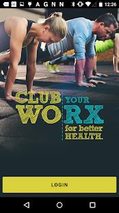 ClubWorx - náhled