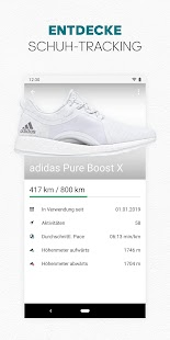 adidas Running by Runtastic - Sport & Lauf-App Screenshot