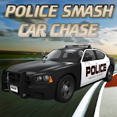 Police Smash Car Chase