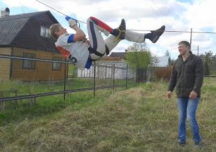Photo: Давай, папа!