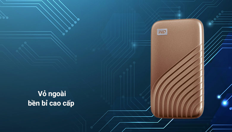 Ổ cứng HDD WD Blue 4TB SATA3 5400rpm (WD40EZAZ) | Vỏ ngoại bền bỉ cao cấp