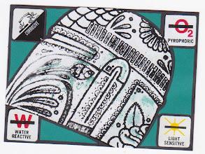 Photo: Wenchkin's Mail Art 366 - Day 224 - Card 224a