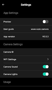 Vuze Camera- screenshot thumbnail