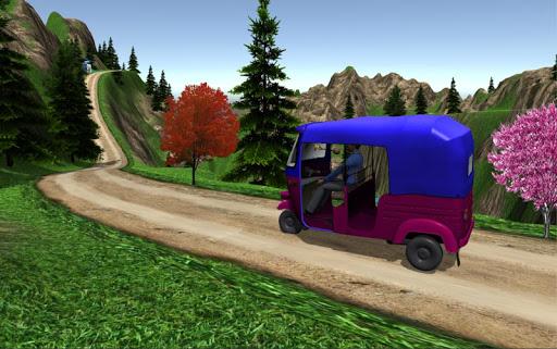 Drive Mountain TukTuk Rickshaw