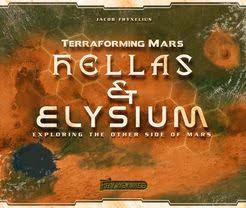 Terraforming Mars Hellas & Elysium