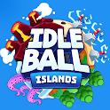 Idle Ball Islands - Physics Fun + Zen Relaxation icon