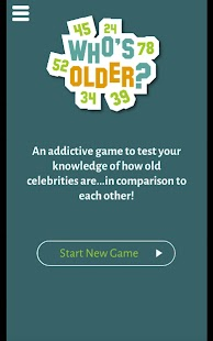 Who's Older? Quiz Game- screenshot thumbnail