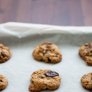 Whole Wheat Chocolate Chunk Cookies
