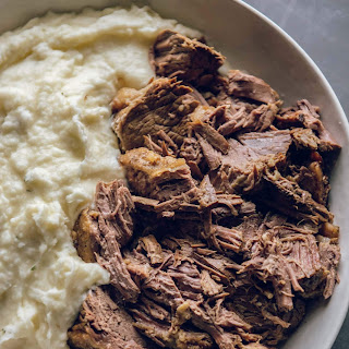 Slow Cooker Roast Beef with Rosemary and Garlic Recipe