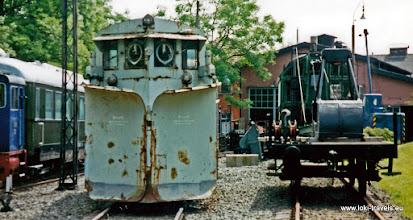 Photo: Neuenmarkt. Stoomlocomotieven museum.