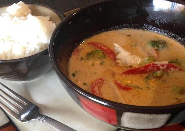 Thai Curry Chicken Bowl W/coconut Sticky Rice Recipe