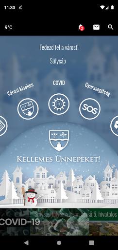 CityApp Sülysáp screenshot 1