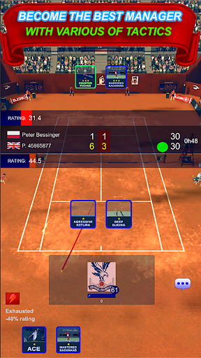 The Tennis Game Breakers - Ultimate Tennis Manager 1.0 screenshots 4