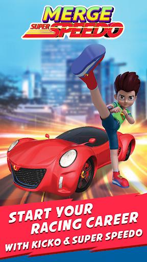 Merge Super Speedo - Kicko Car Tycoon apktram screenshots 6