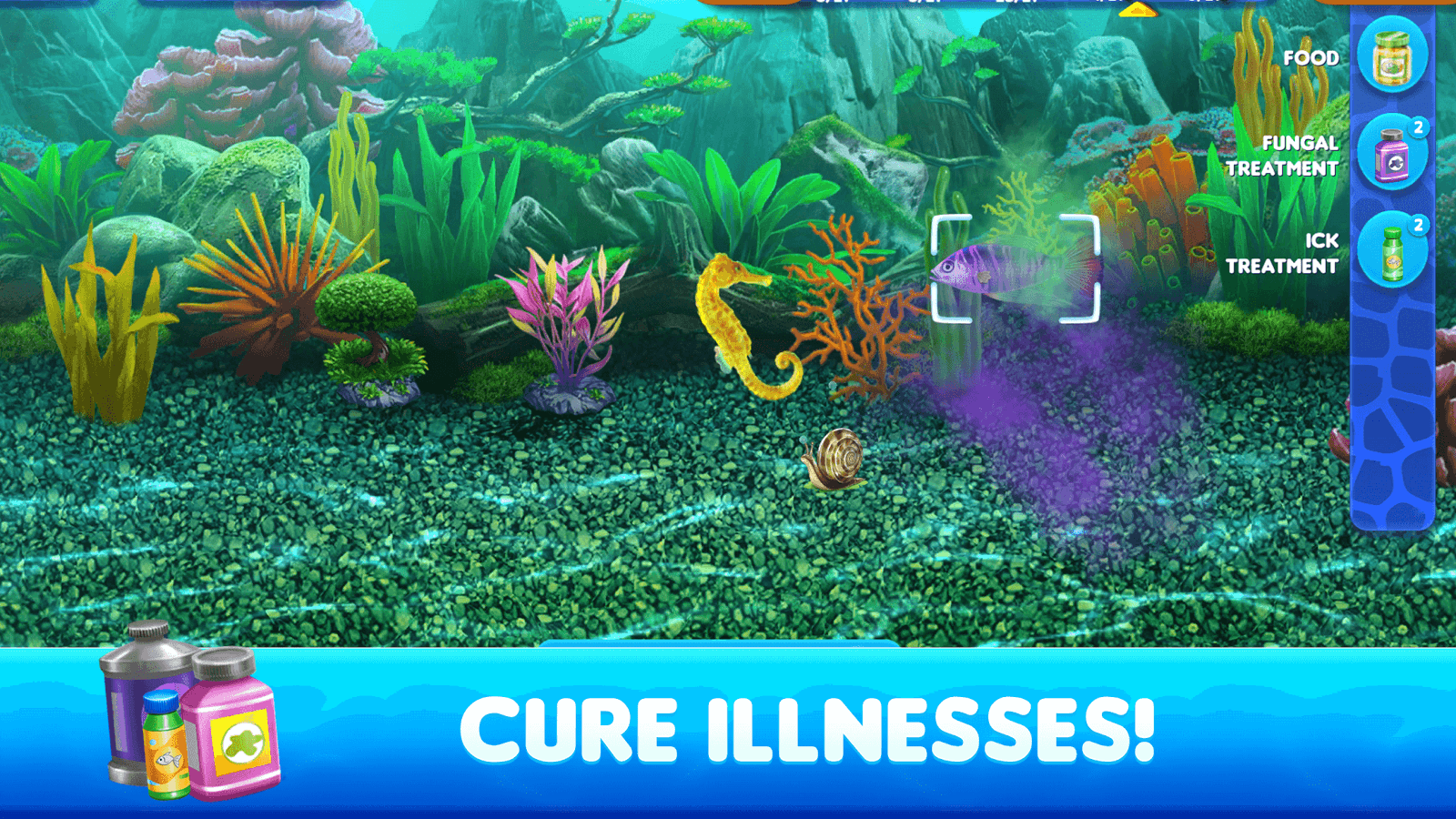 Fish tycoon 2 virtual aquarium android apps on google play for Google fish tank mrdoob