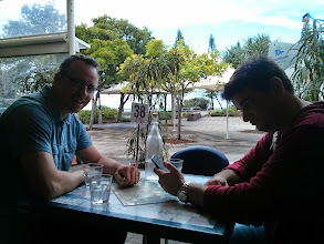 Photo: Lunch in Mooloolaba