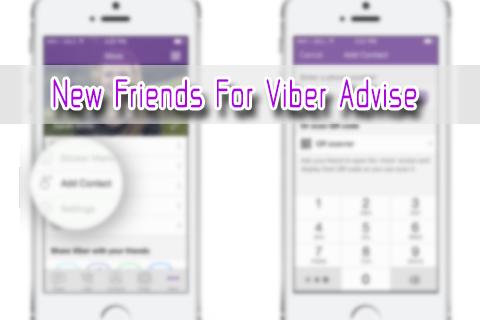 New Friends for Viber Advise