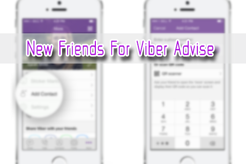 android New Friends for Viber Advise Screenshot 0
