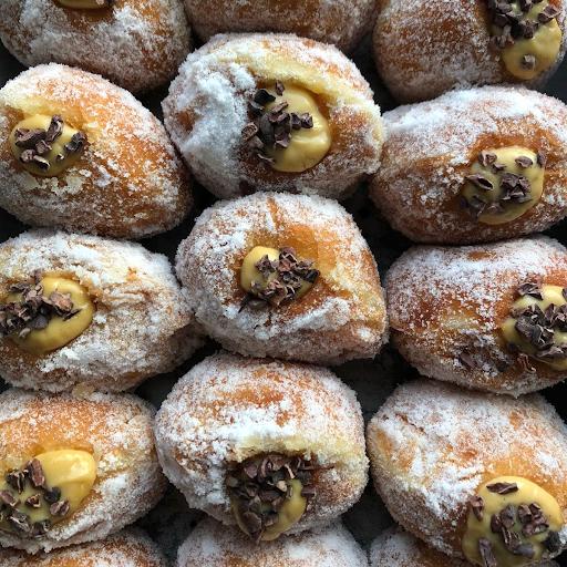 doughnut — brown sugar
