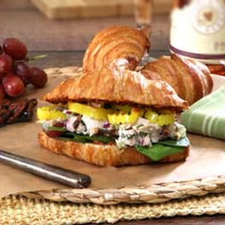 Thanksgiving Turkey Salad Sandwich