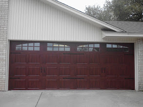 Photo: Installed by Cedar Park Overhead Doors 512-335-7441