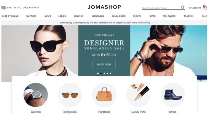 Jomashop.com - Trang web mua đồng hồ thương hiệu giá ưu đãi nhất tại Mỹ