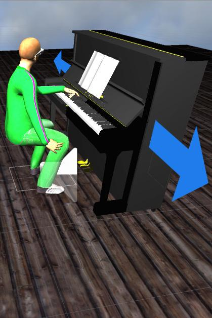 You can play piano - in VR- screenshot