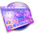 Neon Panda Keyboard Theme