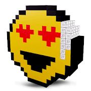 Emoji 3D Color by Number: Voxel,Pixel Art Coloring