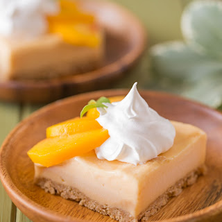 Easy Homemade Peach Ice Cream Bars