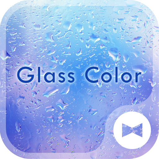 Glass Color +HOME Theme Icon