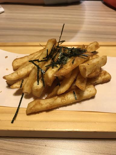 A套餐的脆薯