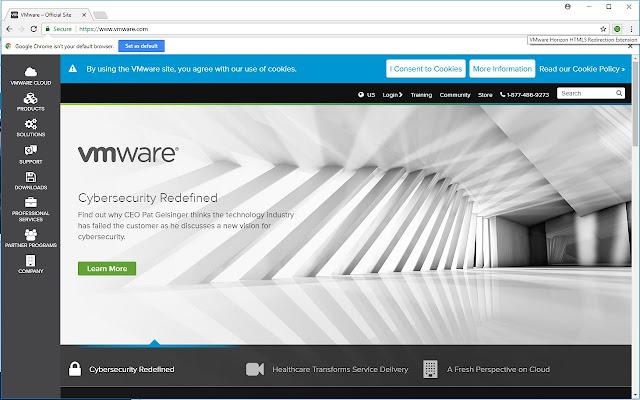 VMware Horizon HTML5 Redirection Extension