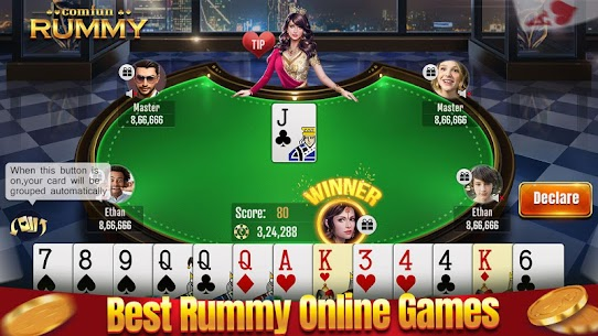 Indian Online Rummy Comfun-13 Card Rummy Game Online App Download For Android 1