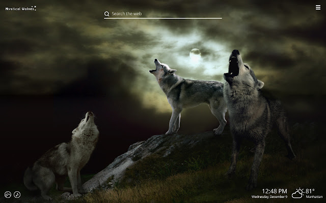 Mystical Wolves Fantasy Wolf Hd Wallpapers